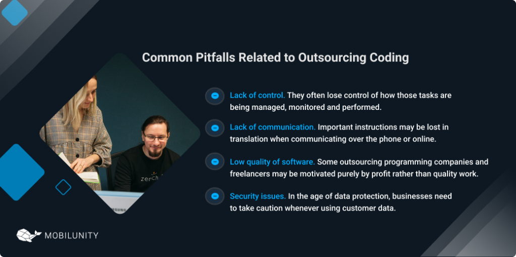 software engineering outsourcing pitfalls