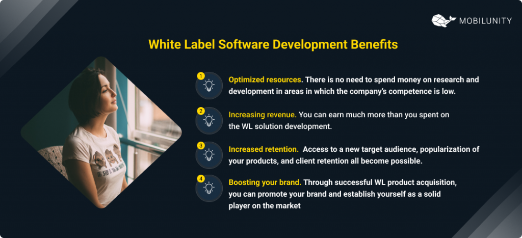 white label software solutions benefits