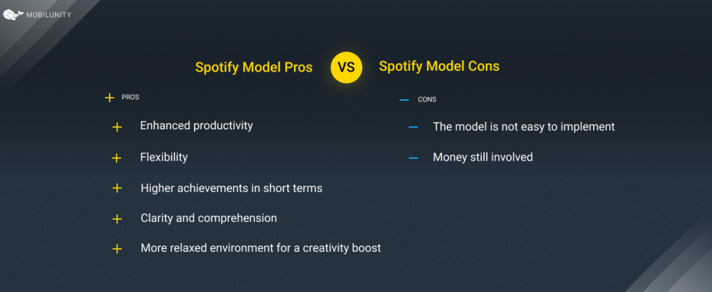 Pros & Cons of Spotify Business Model