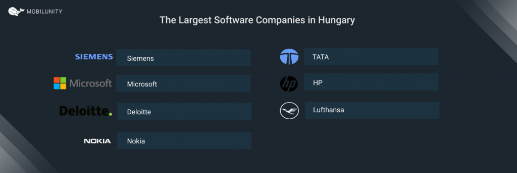 The Largest Software Companies Hungary