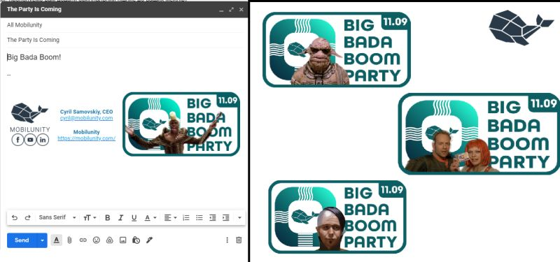 Mobilunity Big Bada Boom Party 2021 Announcement