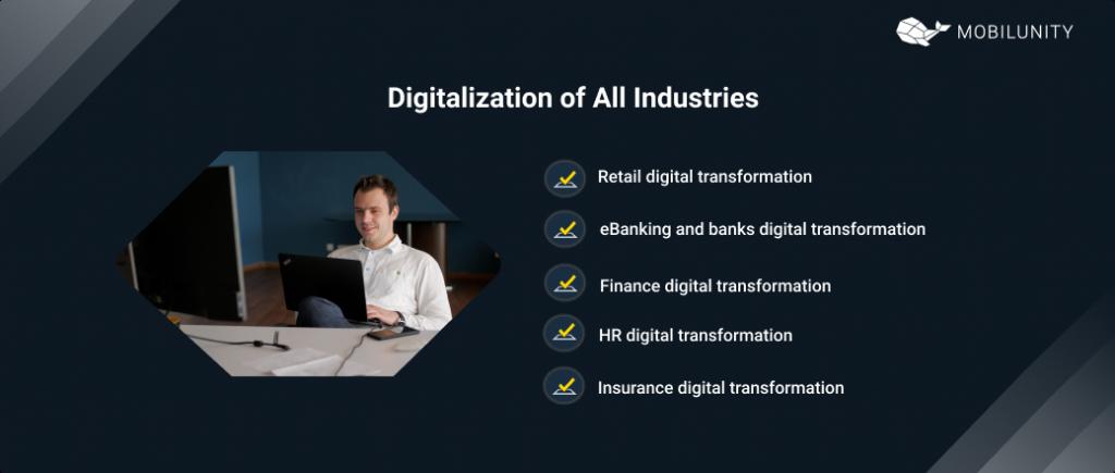 digital transformation industries